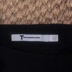 T Alexander Wang black trousers - size 4